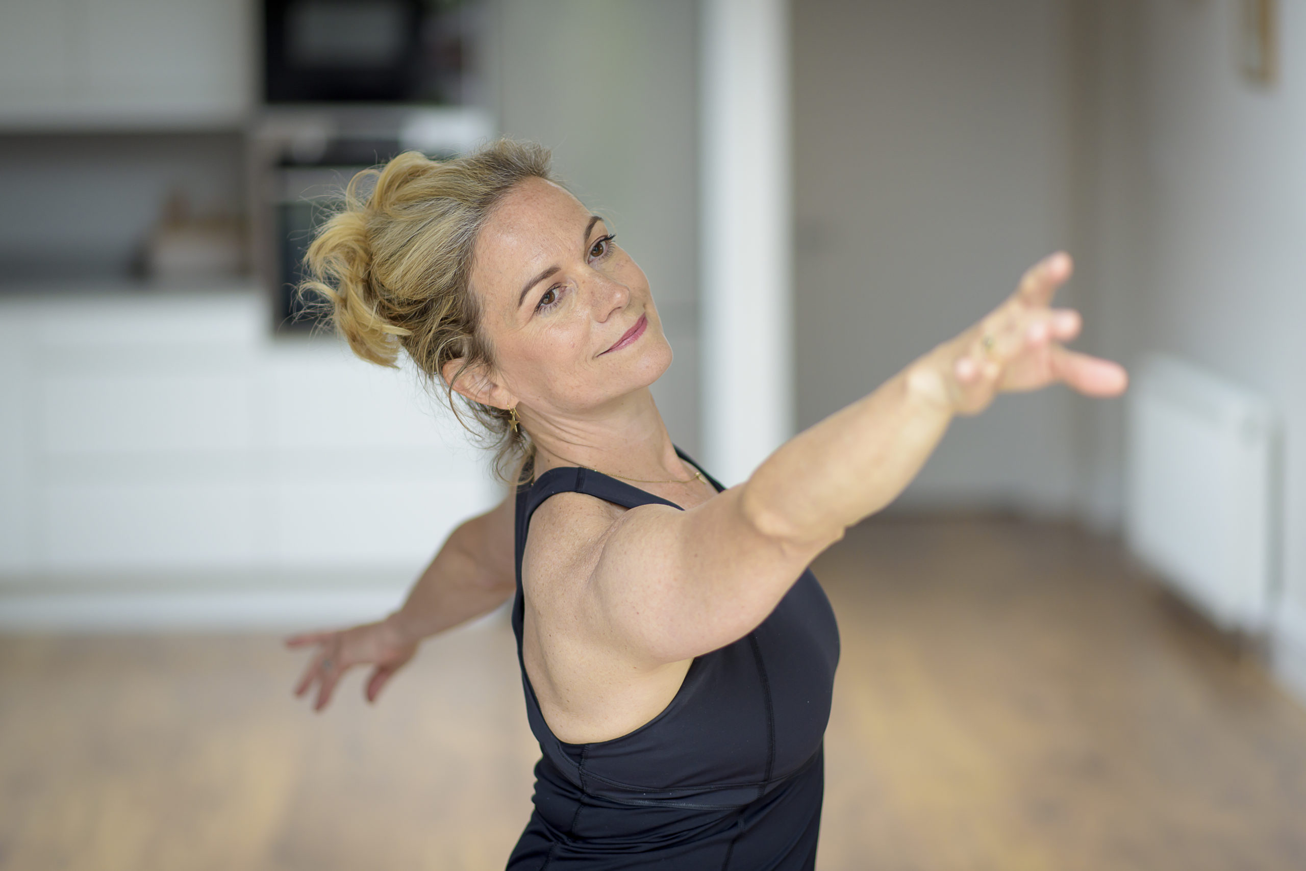 pilates based workouts and real ballet steps