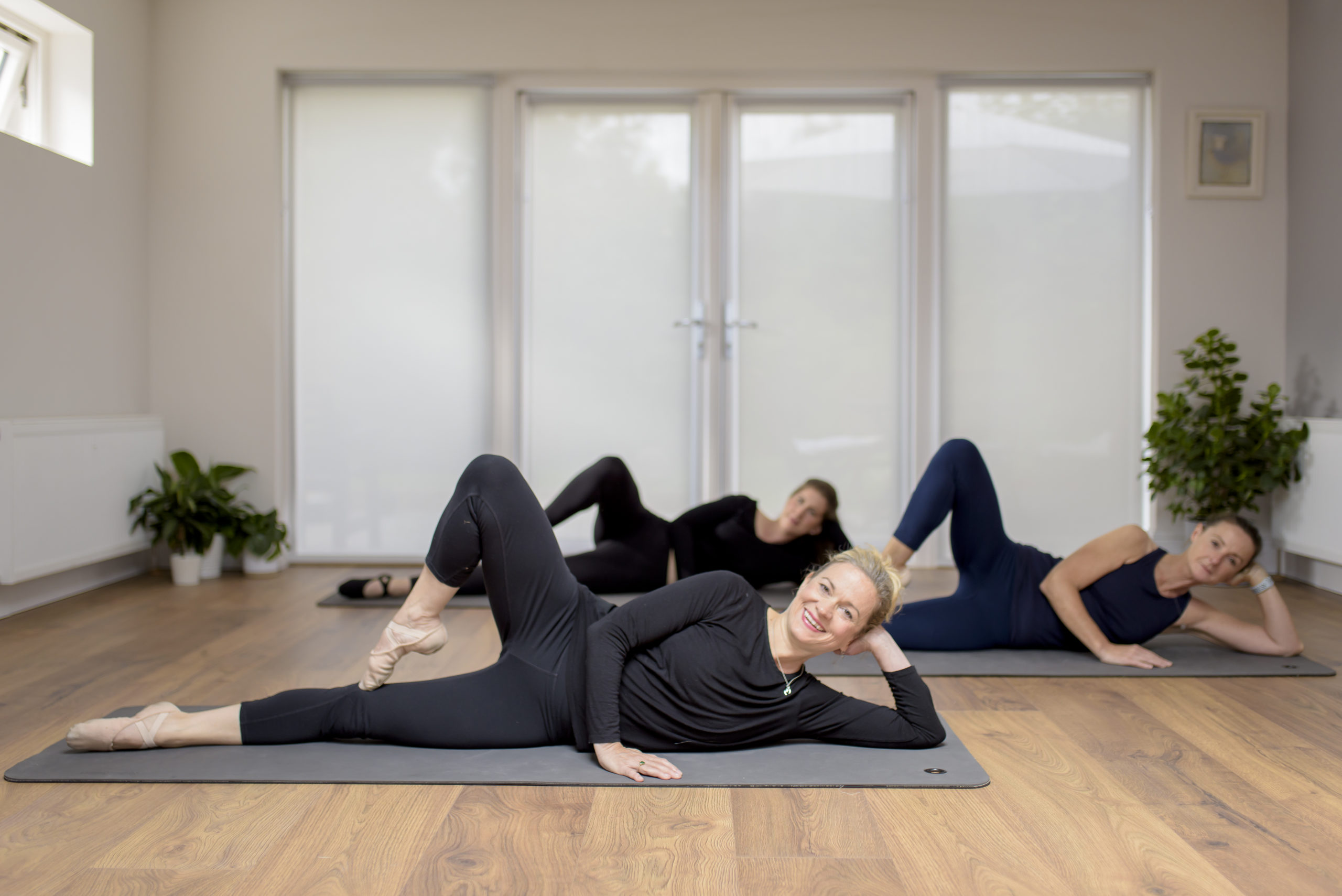 pilates based workouts and real ballet steps barre